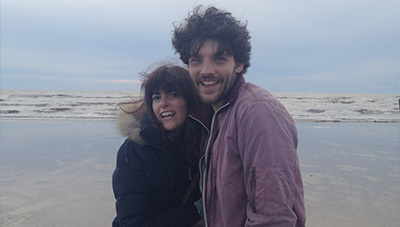 Colin Morgan and Director Lindy Heymann The Laughing King