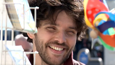 Colin Morgan the Laughing King film